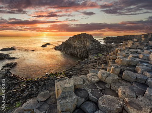 Fotografía  Giant's Causeway, Antrim, Northern Ireland