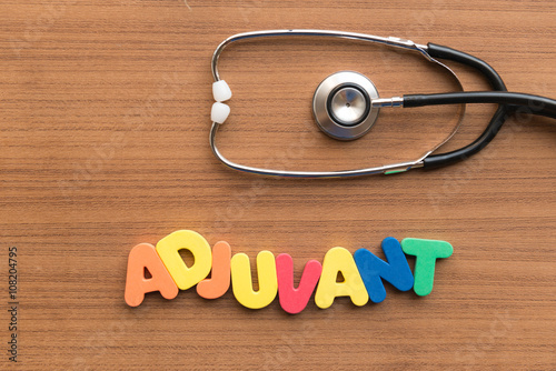 Photo adjuvant medical word