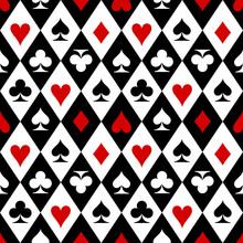 Playing Cards Suit Symbols Pat...