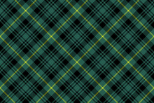 Gordon Tartan Fabric Texture Check Pattern Seamless