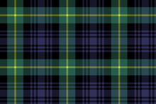 Gordon Tartan Fabric Texture Seamless Pattern