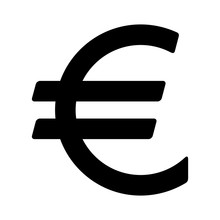 European Euro Currency Or Euro...