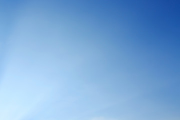 Fototapeta clear blue sky background