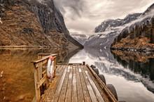 Spring In Gudvangen, Aurland Norway