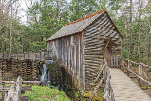 Poster Molens Grist Mill In Cades Cove