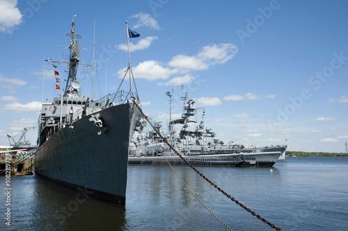 Stampa su Tela Battleship Cove Outdoor Naval Museum