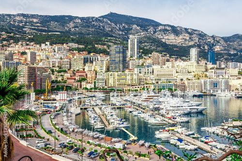 Cityscape of La Condamine, Monaco-Ville, Monaco