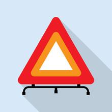 Red Reflecting Traffic Warning...