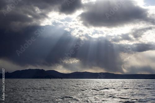 Fotografie, Obraz  Taquile Island in the Titicaca lake, Peru