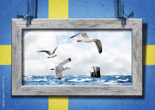 In de dag Scandinavië #0323016142