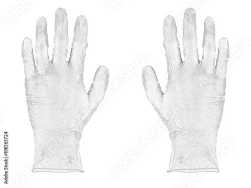 Obraz White gloves - fototapety do salonu