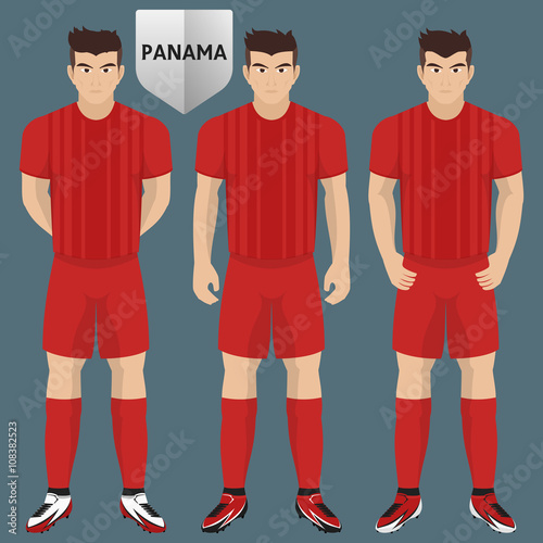 los angeles 56b01 47a96 Panama National Soccer / Football Team Kit for American ...