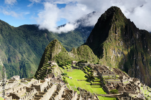 Fotografía  South America, Peru, Machu Picchu