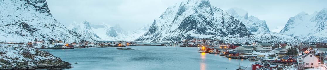 Fisherman's village, Lofote...