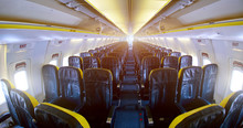 Empty Aircraft Cabin