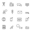 Communication icons,News icon,Vector EPS10.