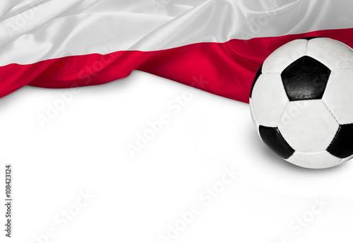 Fototapeta Fußballnation Polen