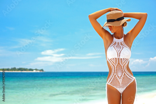Photo  Crochet bikini