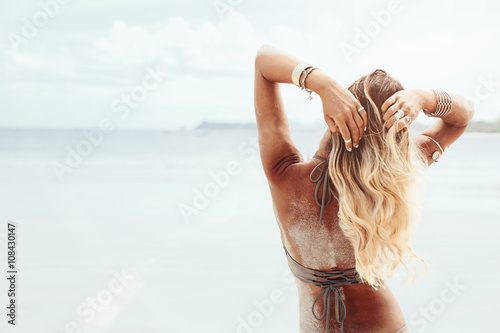 Photo  Boho beach style