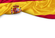 canvas print picture - Spanien Banner