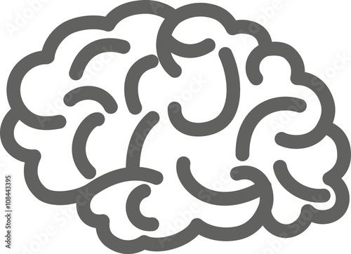 Fototapety, obrazy: Brain icon