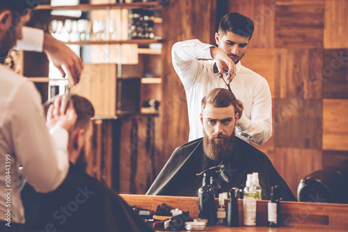 Haircut must be perfect. Canvas Print