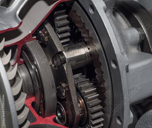 Fotografia jet engine