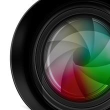 Digitales Kameraobjektiv, Frei...