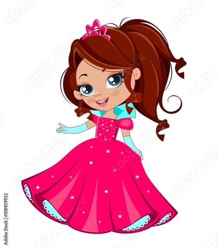 Fotografie, Obraz  Маленькая принцесса