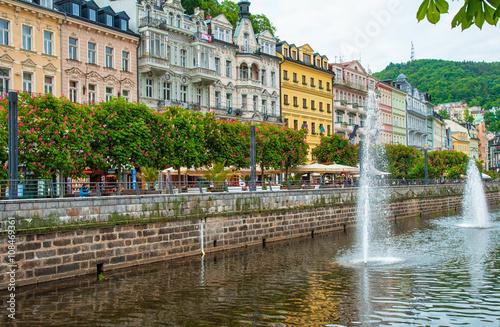Fotografie, Obraz  : Staré město Karlovy Vary, Česká republika
