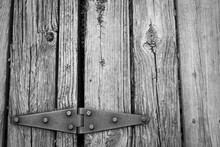 Old Rusted Hinge
