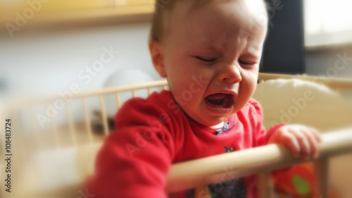 Fotografia, Obraz  Baby crying