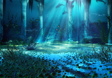 3D Rendered Underwater Fantasy...
