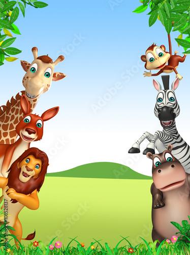 wild animal #108528137