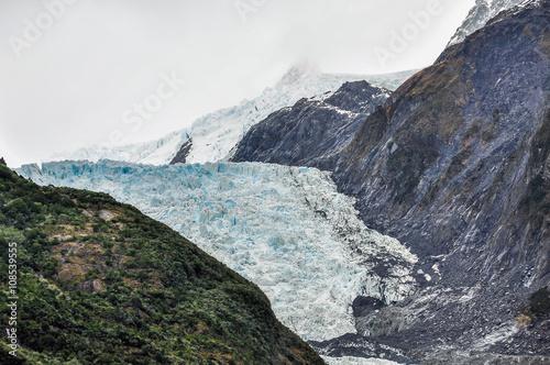 Photo  Franz Josef Glacier in New Zealand
