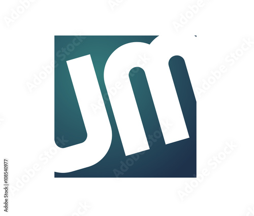 UM Initial Logo for your startup venture Wallpaper Mural