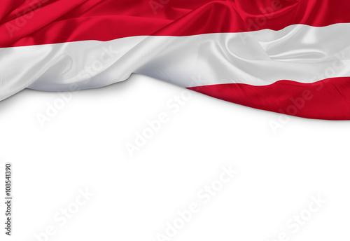 Österreich Banner Canvas Print