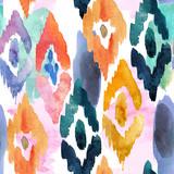 watercolor pattern of ornamental elements - 108541741