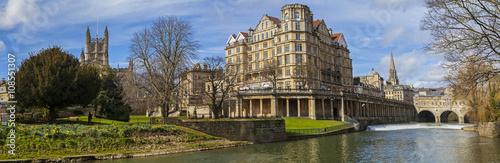 Fotografie, Obraz  Panorama of the historic city of Bath in the UK.