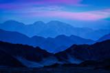 Fototapeta Do pokoju - Himalayas mountains in twilight