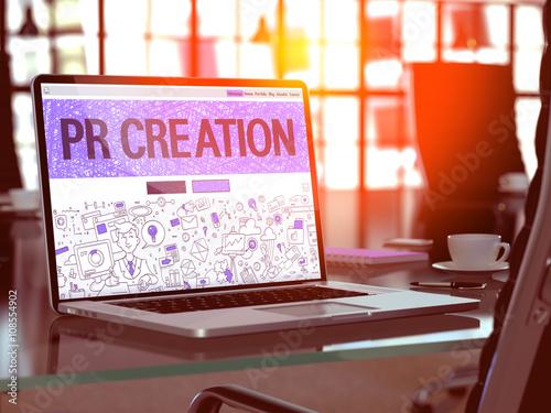 Fotografía  PR Creation Concept