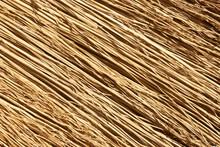 Straw Broom Texture.