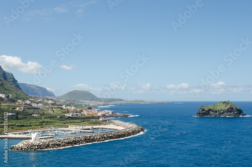 View of Garachico, Tenerife, Canary islands, Spain.