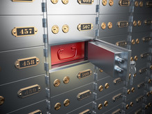 Safe Deposit Boxes With Open O...