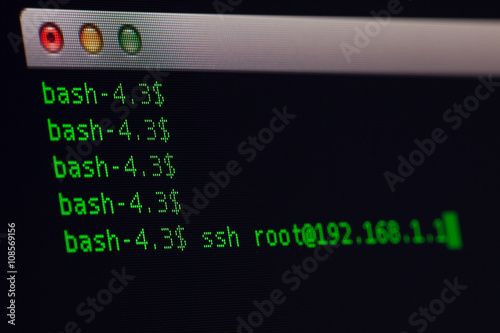 Terminal Application call ssh program