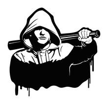 Hooligan - Vector Illustration...