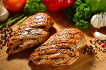 Roast Chicken Breast And Vario...
