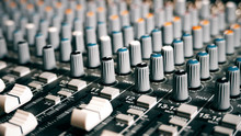 Mixing Board Sound Knobs. Pro ...