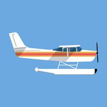 Small Amphibian Seaplane