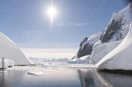 Ingelijste posters Antarctica Antarctica nice view